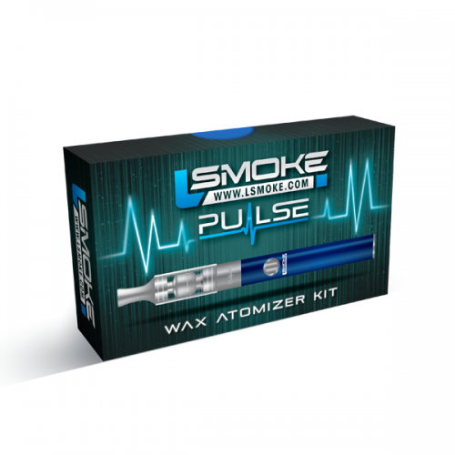Lsmoke PULSE Wax Vaporizer Kit (Blue)